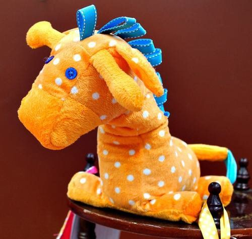 Custom Weighted Sensory Gerry/Jenny Giraffe Weighted Toy