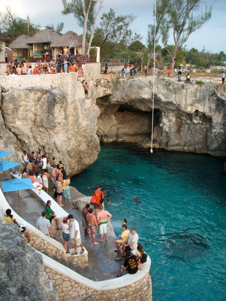 Rick's Cafe in Negril, Jamaica-where they go cliff diving~one of my favorite places!!!