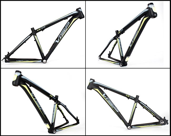 China Cost Selling 26er Aluminum Mountian Bicycle Frame Electric