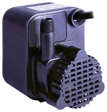 Little Giant 518200 PE-1 Small Submersible Pump - Transitional - Outdoor Fountains - PlumbersStock