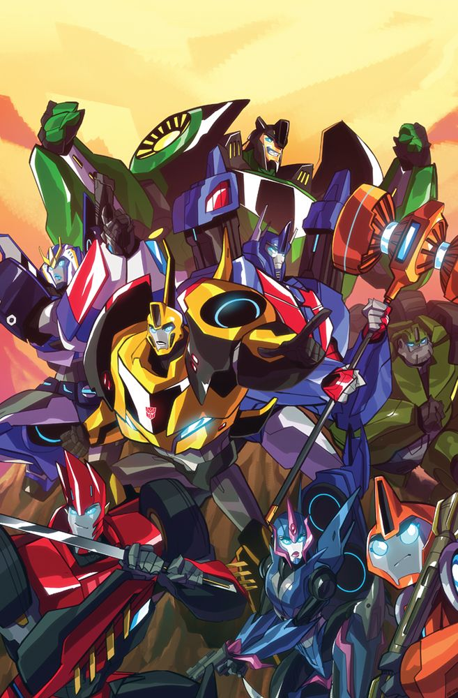 Transformers Robots in Disguise #4 - Sara Pitre-Durocher