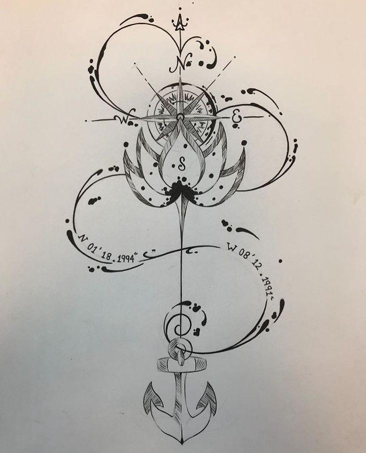 Dieser Stil um meinen Arm   – Tatuaż