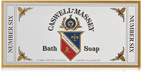 Caswell-Massey Number Six Bath Soap (Box of 3 Bars at 5.8oz each) Review