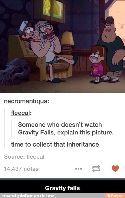 People who don't watch gravity falls put what you think down below!!
