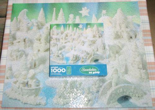 Springbok Snowbabies at Play Jigsaw Puzzle 1000 Pieces XZL6301 Collectors Series | eBay
