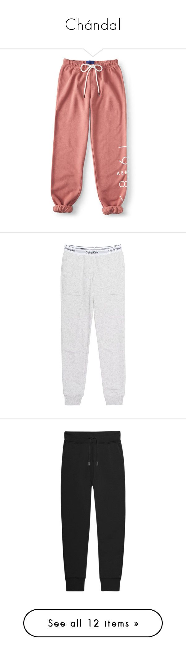 """""""Chándal"""" by cecyherondale ❤ liked on Polyvore featuring activewear, activewear pants, bottoms, berry blush, aéropostale, relaxed fit sweatpants, sweat pants, red sweat pants, aeropostale sweatpants and slim fit sweatpants"""