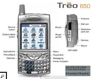 Treo 650, my first smartphone