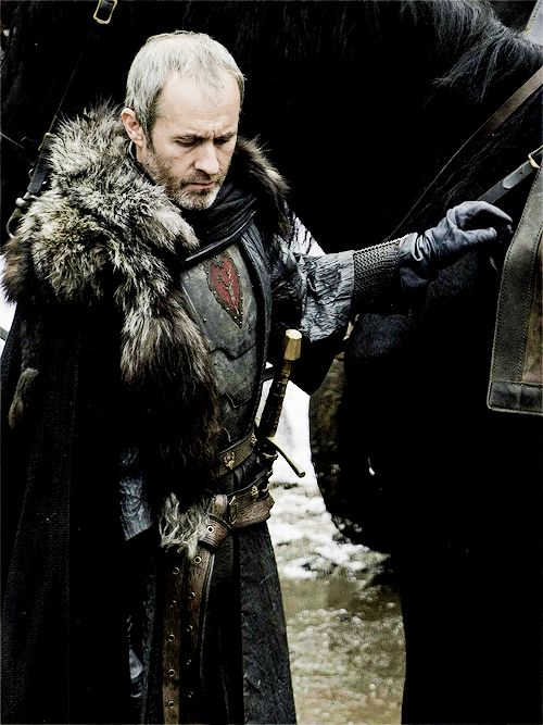 "ladyblackfish:    Stannis Baratheon in S05E05, ""Kill the Boy"" (x)"