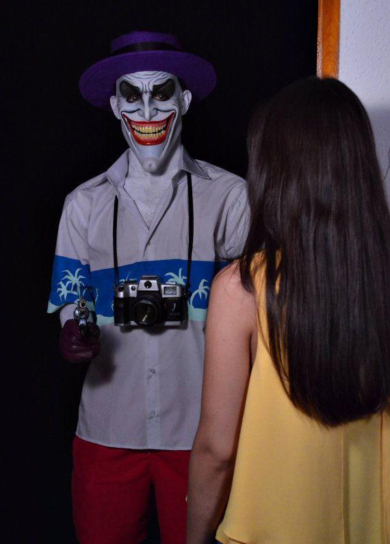 THE JOKER MASK The joker latex mask halloween mask by HydeFxStore | Etsy