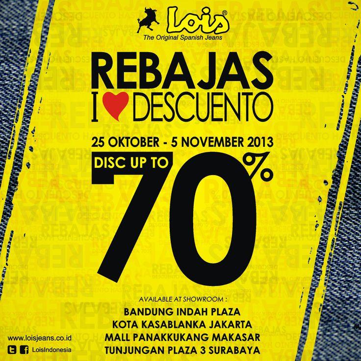 REBAJAS LOIS JEANS INDONESIA