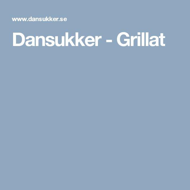 Dansukker - Grillat