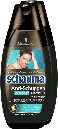 Schauma Anti Dandruff Intensive Shampoo 2 Pack 2 x 400 ml *** See this great product.(This is an Amazon affiliate link and I receive a commission for the sales)
