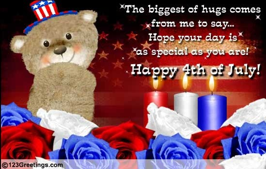 4th of july egreetings