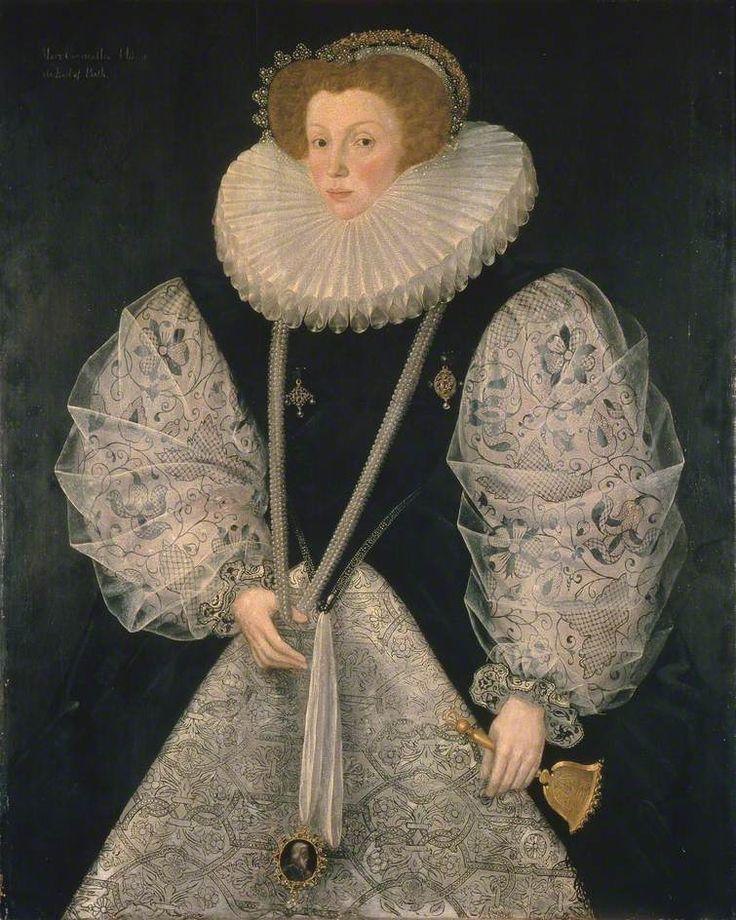 ab. 1580-1585 George Gower - Mary Cornwallis, Countess of Bath