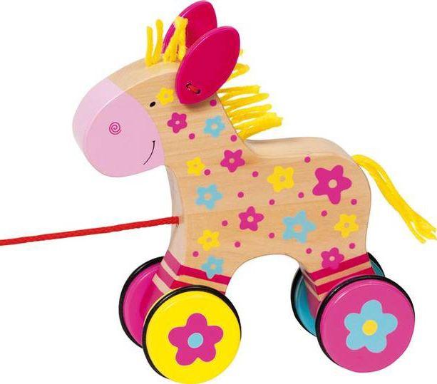 Goki Pull along Clara, $17.95 https://www.mylittlegreenshop.com/ProductDetails.asp?ProductCode=TOYS_Goki_pull_toys