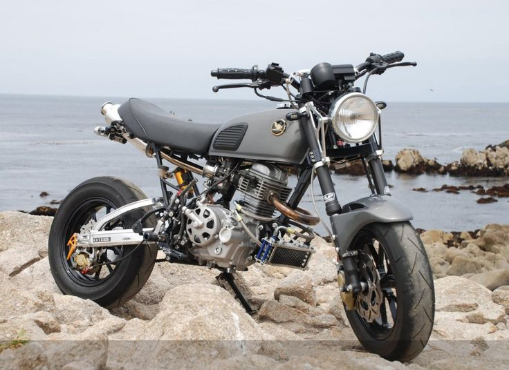 tuning honda ape 50 50 70cc moped bike pinterest honda. Black Bedroom Furniture Sets. Home Design Ideas