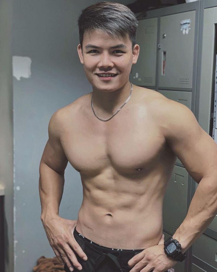 Pin by Rinnie on Abs | Asian men, Asian boys, Hotties