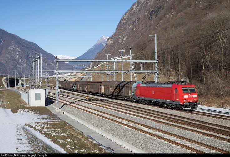 RailPictures.Net Photo: 185 102 DB AG 185 at Biasca, Switzerland by Georg Trüb