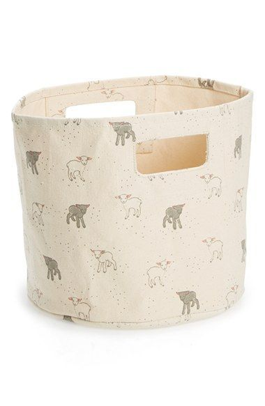 Petit Pehr 'Little Lamb - Pint' Print Canvas Bin