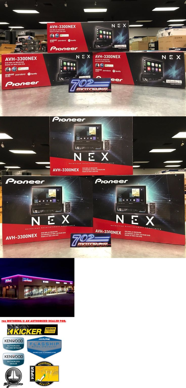 Video In-Dash Units w o GPS: Pioneer Avh-3300Nex 7 Dvd Cd Bluetooth, Hd Radio And Apple Carplay And Android Auto -> BUY IT NOW ONLY: $594.95 on eBay!