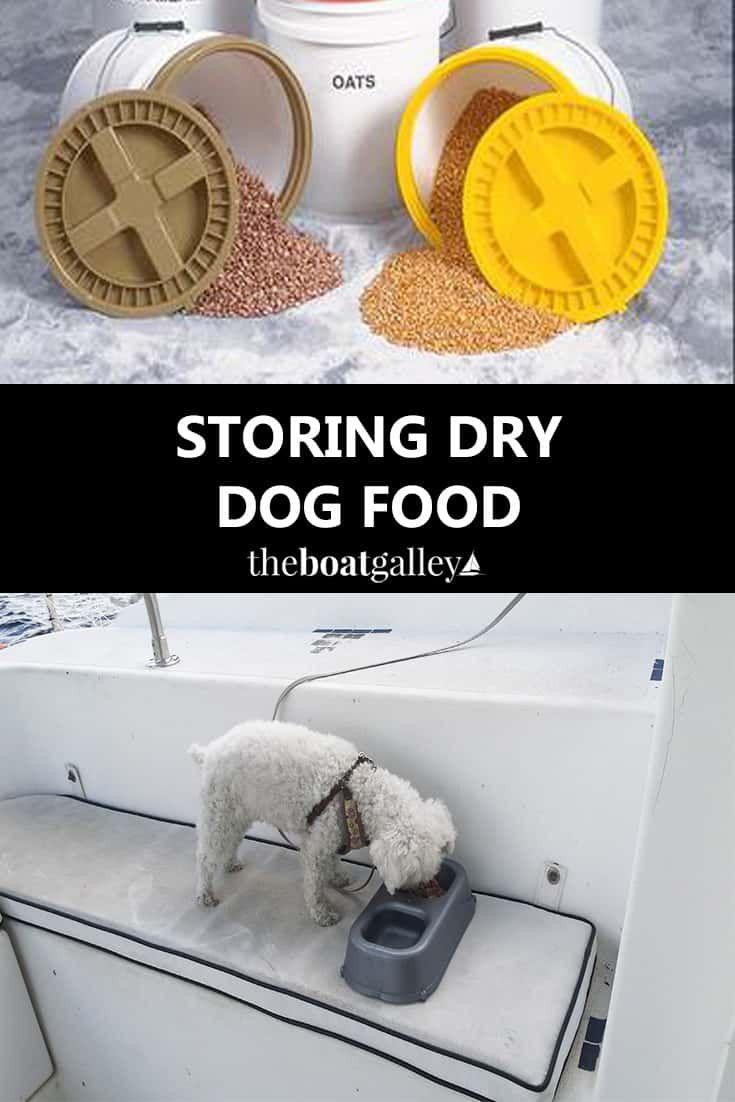 Storing Dry Dog Food Dry Dog Food Dog Food Recipes Dog Store