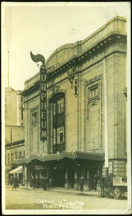 Orpheum Theatre Winnipeg, Man. (1913)