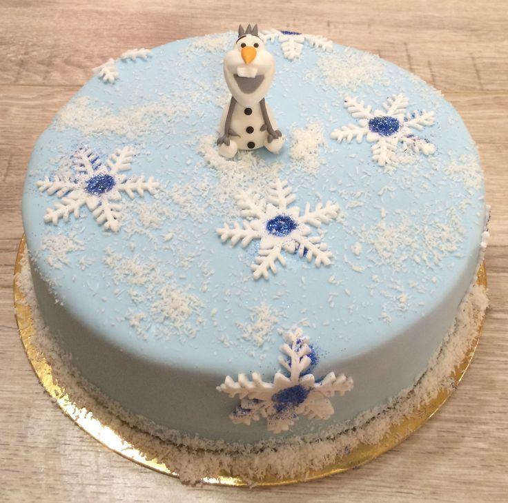 "Торт ""Холодное сердце""!"