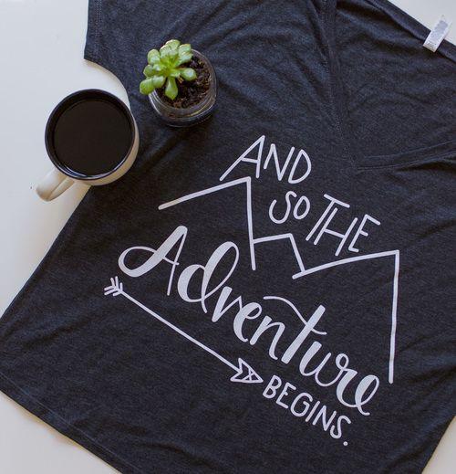 Adventure T Shirt (Grey)