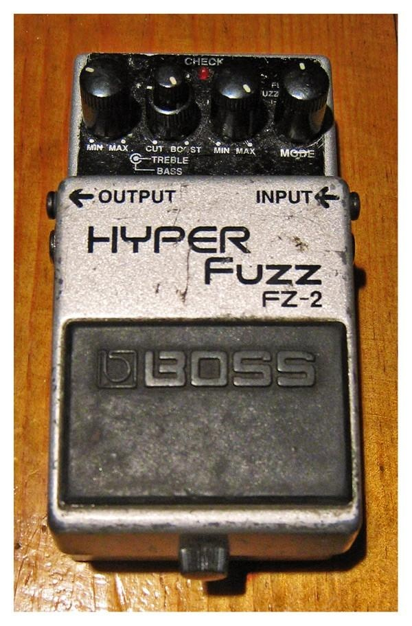 hyper boss The hm-3 is designed for greater gain and a more accurate dynamic response to produce a powerful, hard-edged sound with powerful sustain.
