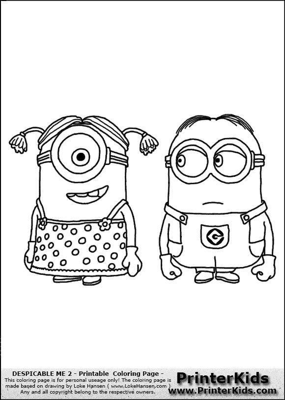 Coloring Book Minions : 26 best minion images on pinterest