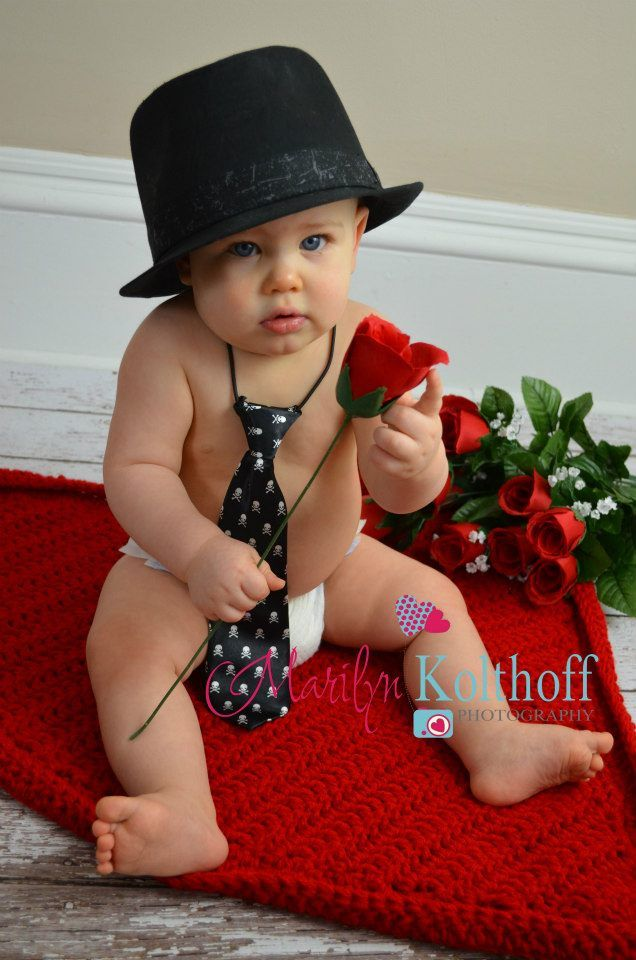 Baby Boy Sweet Tie Hat Photo Idea I Know Some Little Boys I M Gonna