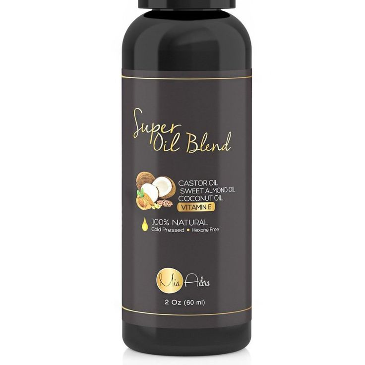 PURE Castor Oil with Sweet Almond Oil, Coconut Oil and Vitamin E Oil - Best Hair Growth, Regrowth, and Conditioning Oil Blend for Eyelashes and Eyebrows. 100% Natural - NO Parabens, Fillers or Toxins >>> Find out more about the great product at the image link.