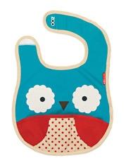 Zoo Owl Tuck-away Bib
