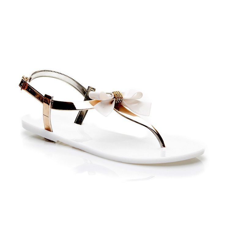 Gumowe Sandaly Stylowe Obcasy Shoes Sandals Fashion