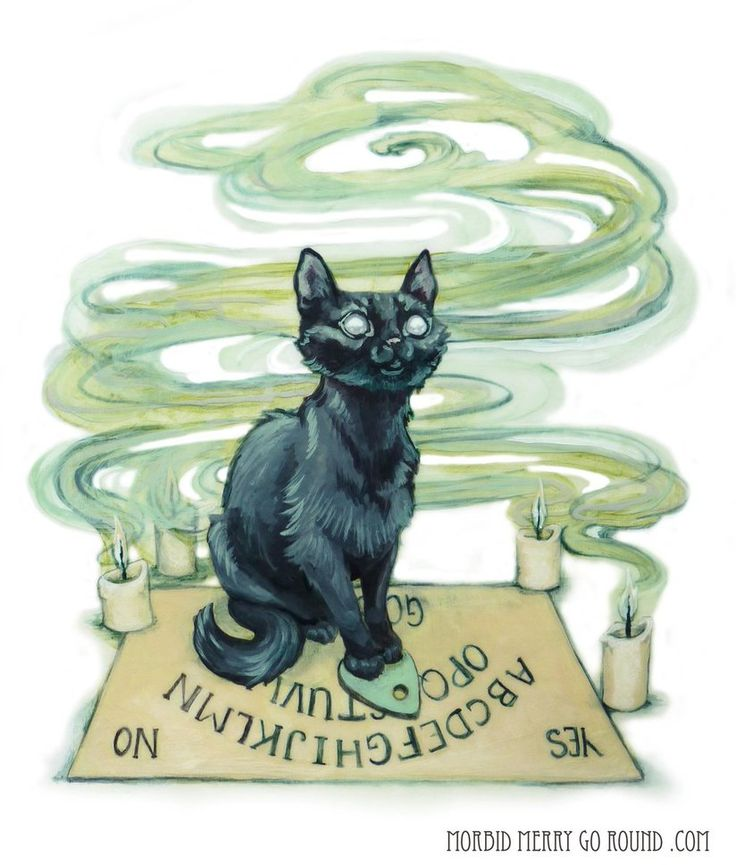 because I need more spooky cats. Prints and things are available on redbubble, as always: www.redbubble.com/people/jenny…