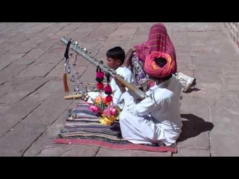 The Steel Bow Fiddler of Jodhpur Fort