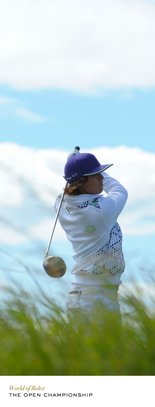 Rickie Fowler at The Open Championship in 2010. #Rolex #RolexOfficial