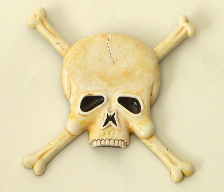"Skull details, our best is yet to come, but this will do for now. Our favourite from the Skull & ""Bones"" collection... Art Plaques to make an impression..!"