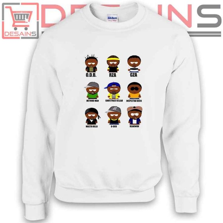 Buy Sweatshirt Wu tang Clan Characters Sweater Womens and Sweater Mens