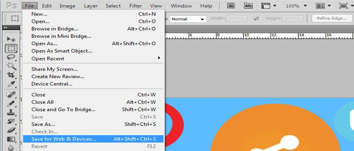How decrease a image file size in photoshop