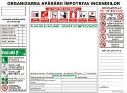 Schita de evacuare in caz de incendiu si plan de evacuare in caz de incendiu,psi, | Indicatoare-Securitate.ro