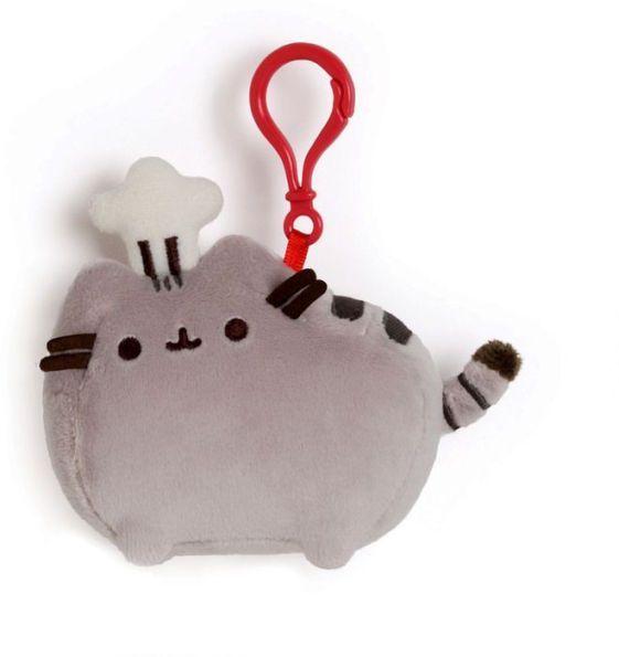 Pusheen Backpack Clip - Chef Hat