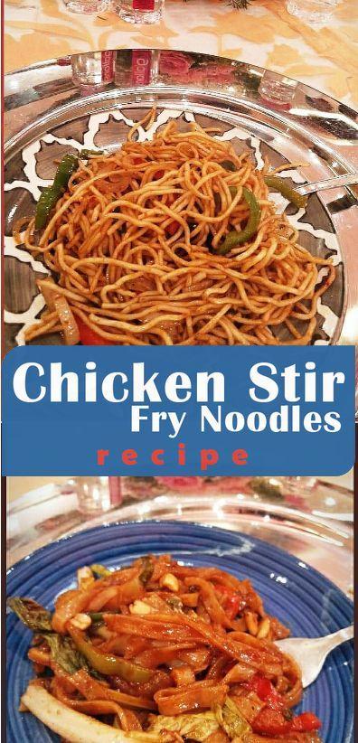 Cute Nails Chicken Stir Fry Noodles In 2020 Stir Fry Noodles Chicken Stir Fry Easy Chicken Stir Fry