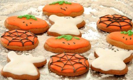 Biscotti glassati di Halloween