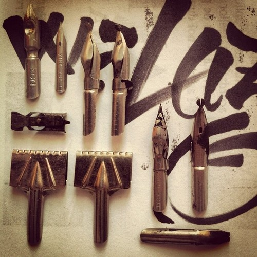 25 best ideas about calligraphy tools on pinterest