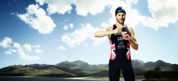 Team GB triathlete Gordon Benson