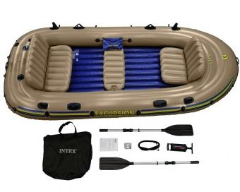 Intex Excursion 5 Inflatable Boat - 5 Man Inflatable Boats