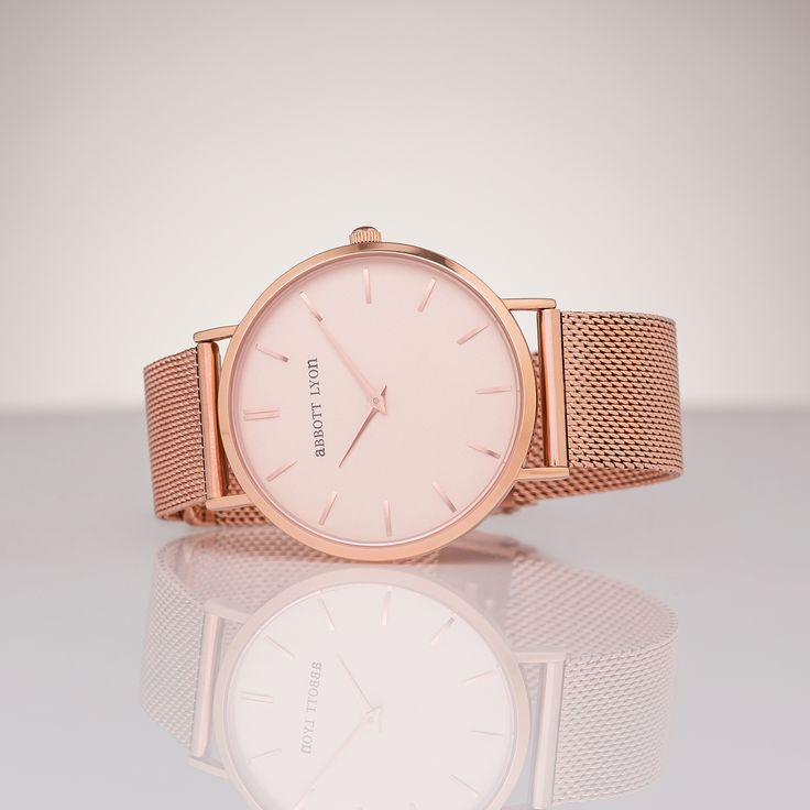 The Rose Gold Peach 40 from Abbott Lyon.