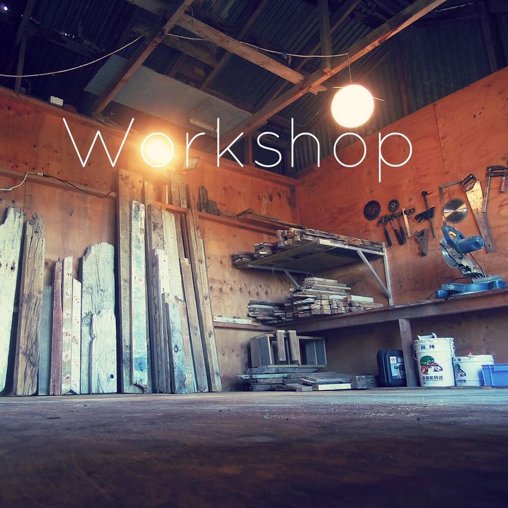 The new workshop is ready to use!