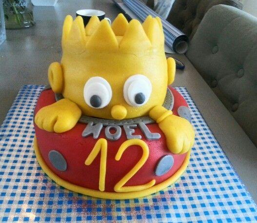 Bart Simpson taart